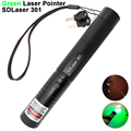 High Power Green Laser Pointer Pen SDLaser 301 532nm Powerful Burning Lazer Pointer Flashlight PPT Presentation Pen Beam Light