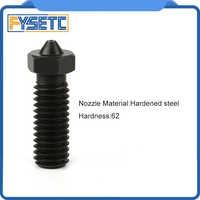 1PC Hardened Steel Volcano Nozzles For High Temperature 3D Printing PEI PEEK Carbon Fiber Filament For E3D Volcano Hotend