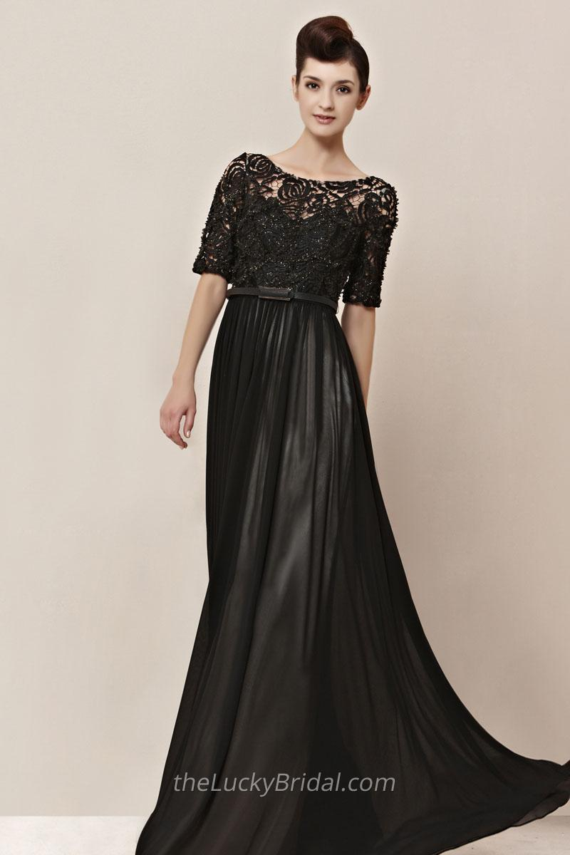The results of the research black tie dresses