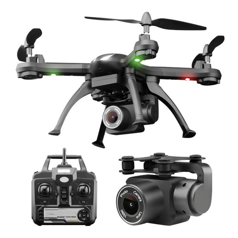 Drones com câmera fpv one-button retorno vôo rc quadcopter bateria de longa duração de quatro-eixo RC helicóptero com led zangão brinquedos presente