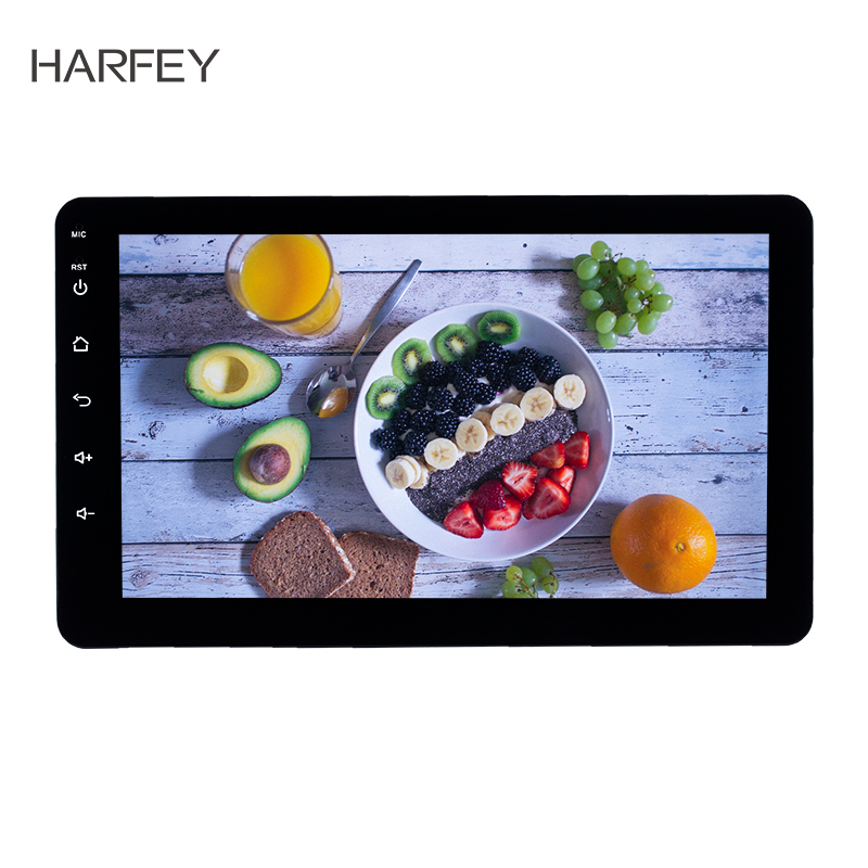 Voiture Harfey universelle 8 pouces Android 8.1 2Din Headunit Radio GPS pour Nissan TOYOTA Kia RAV4 Honda VW Hyundai voiture lecteur multimédia