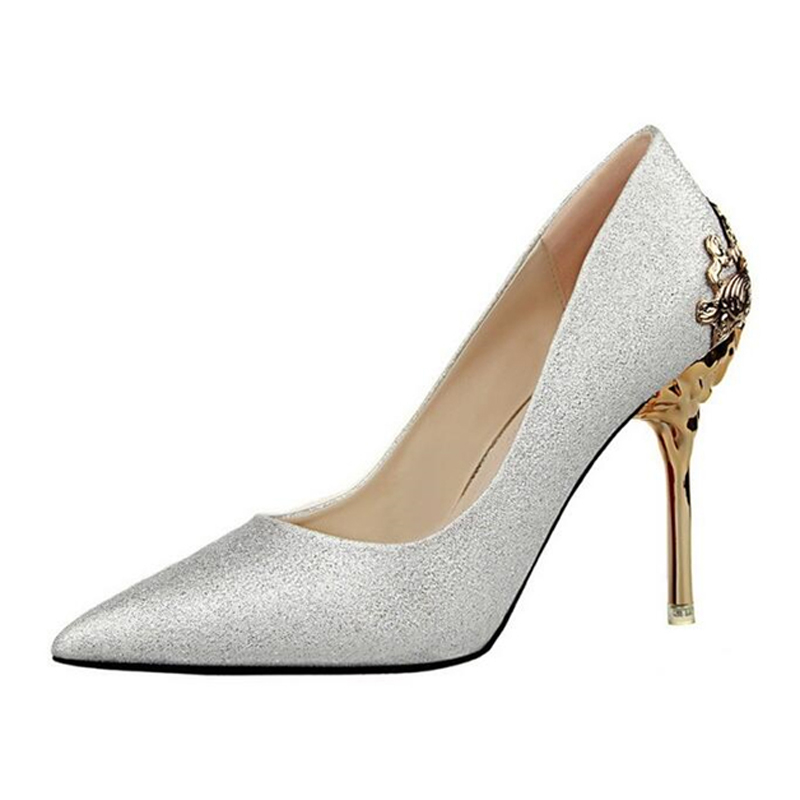 Vintage Silver Heels Promotion-Shop for Promotional Vintage Silver