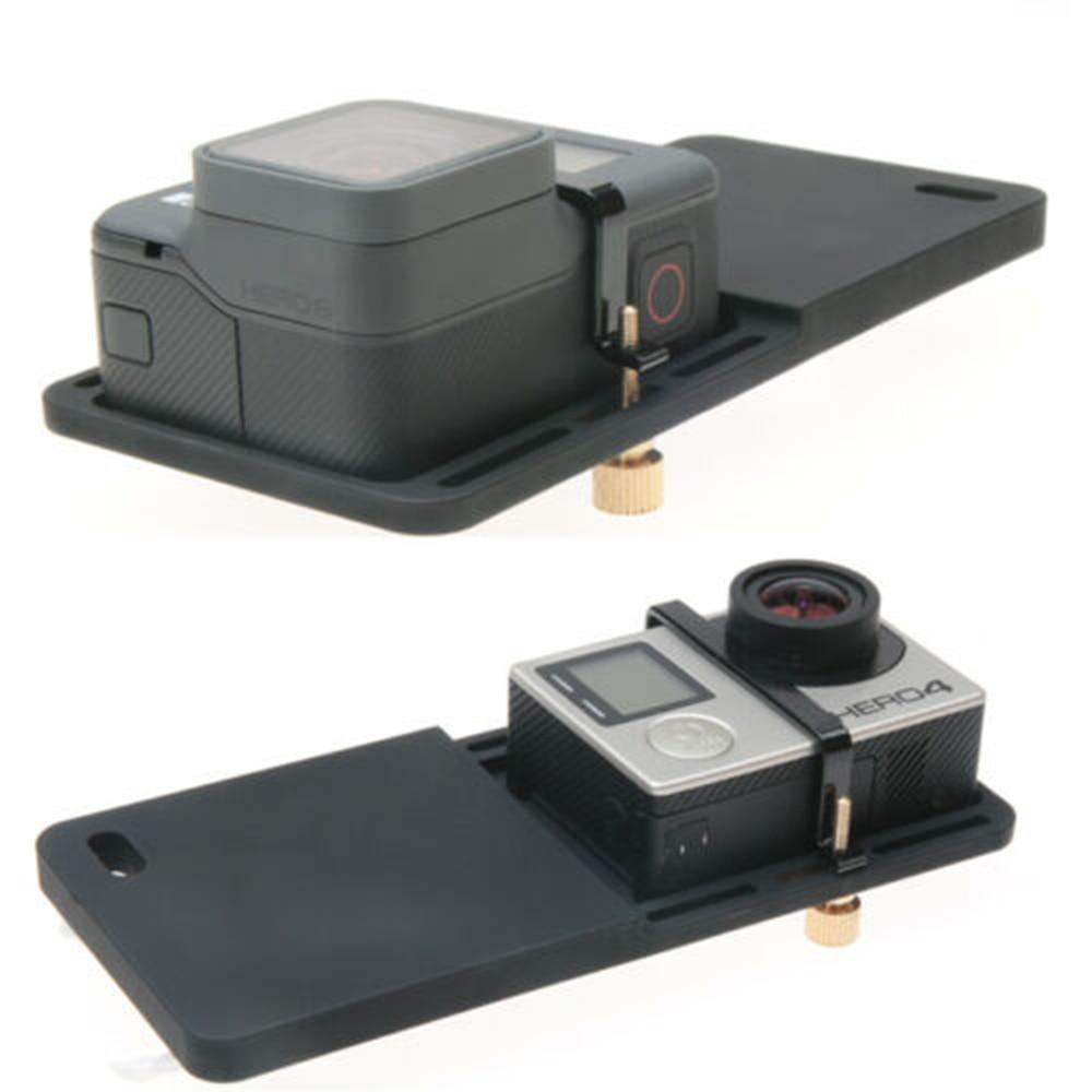 Camera for DJI Osmo Zhiyun Smooth Q Mobile Gimbal Handheld Handheld Gimbal Adapter Switch Mount Plate for GoPro Hero 5/4/3 Yi 4k