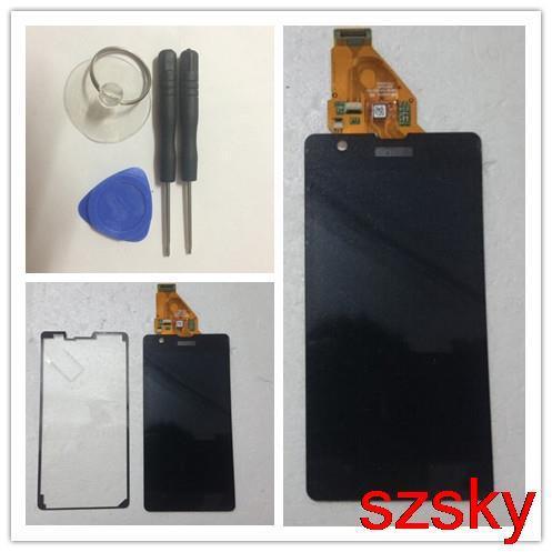 Новый ЖК-Дисплей с Сенсорным Экраном дигитайзер ассамблеи для Sony для Xperia ZR M36h C5502 C5503 1 шт. бесплатная доставка + инструменты