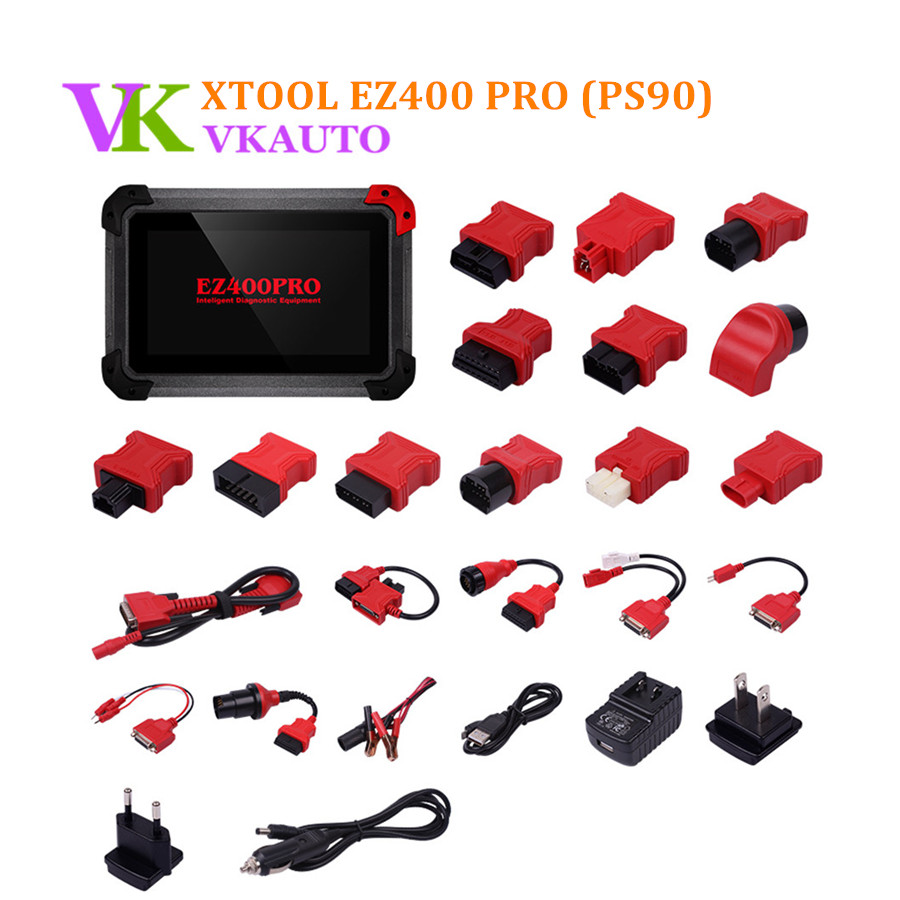 XTOOL EZ400 PRO Tablet Diagnostic Tool Same Function As PS90 Support Key Program Odometer Adjustment and