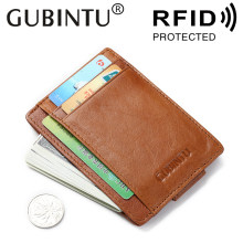 Baru Fashion Wanita Dompet RFID Blocking Uang Klip Magnet Klip Ultrathin Saku Clamp Kartu Kredit Case Mini Kreatif Dompet(China)