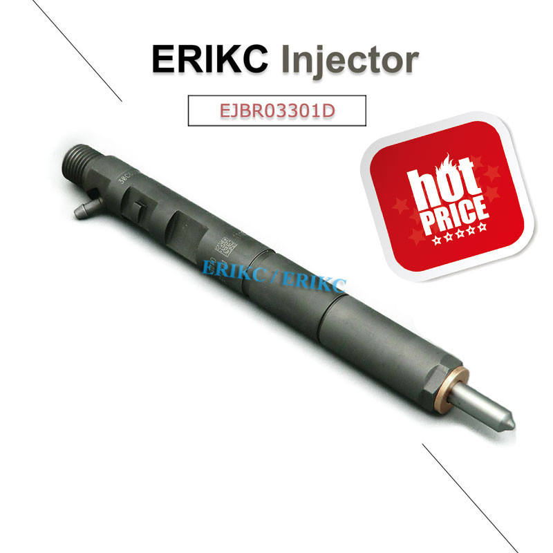 ERIKC Diesel Injector EJBR03301D Fuel Pump Injection EJBR0 3301D Injector Assembly Fitting Engine R03301D 03301D for
