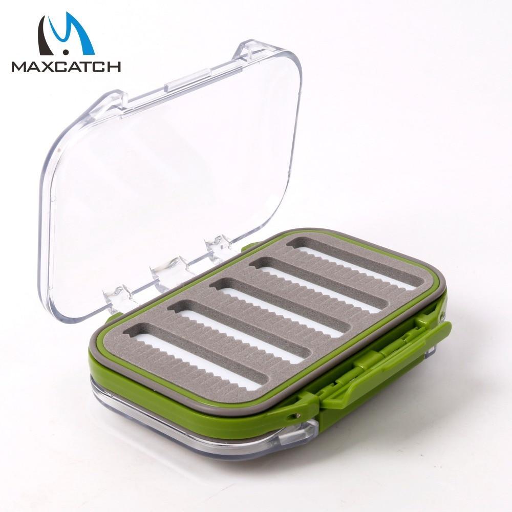 Maximumcatch waterproof fly fishing box with slit foam for Fishing bait box