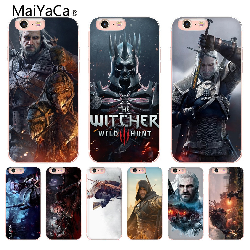 MaiYaCa witcher 3 On Sale Luxury Cool Phone Accessories Case For iPhone X 10 6 6S 7 7plus 8 8Plus 5 5S Cover Shell