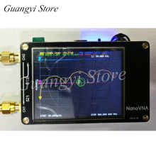 NanoVNA векторный сетевой анализатор антенный анализатор коротковолновый MF HF VHF UHF Genius