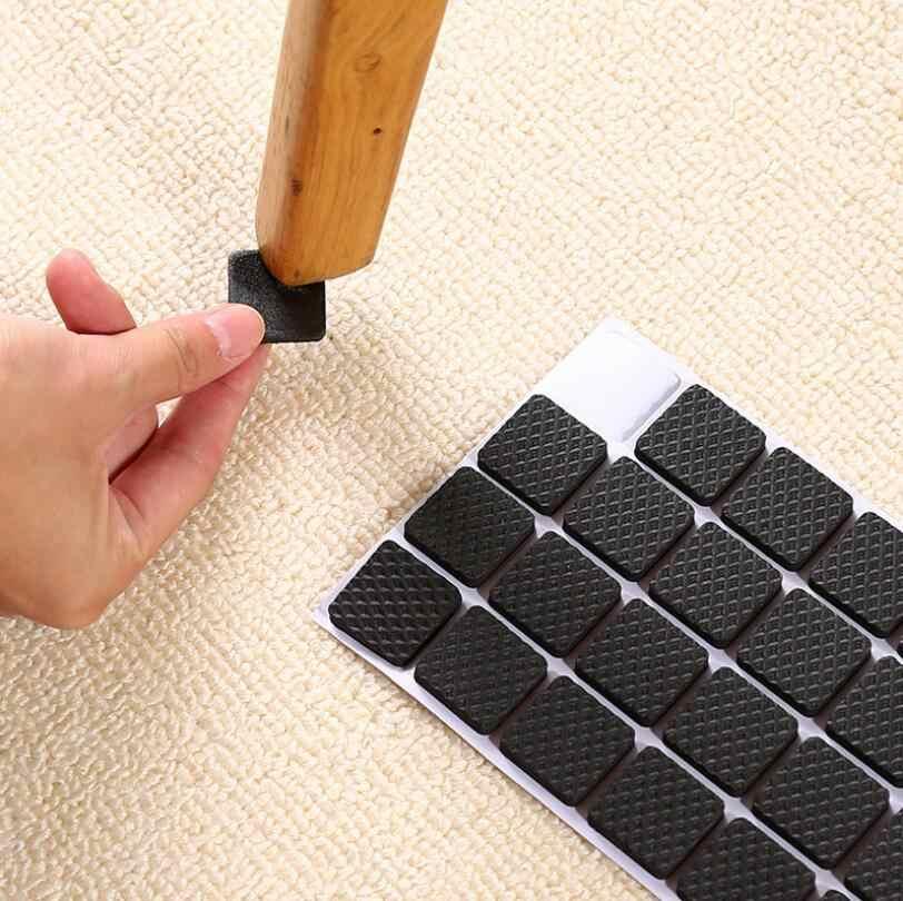 1 zestaw kwadratowe/okrągłe ciche odporne na zużycie i antypoślizgowe stoły/podkładki pod stopy/krzesła/maty ochronne materiały meblowe