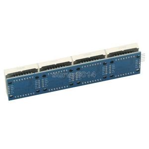 Image 3 - MAX7219 LED Mikro 4 In 1 Ekran 5P Hattı ile Nokta Vuruşlu Modül 5V Çalışma Voltajı Arduino için 8x8 Dot Matrix Ortak