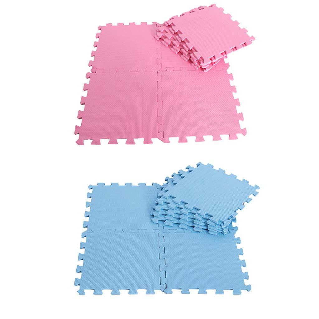 18 pièces Verrouillage tapis de puzzle Bébé tapis de jeu Exercice Tuiles tapis de sol tapis moelleux Pad Tapis de Jeu pour Enfants En Bas Âge Infantile