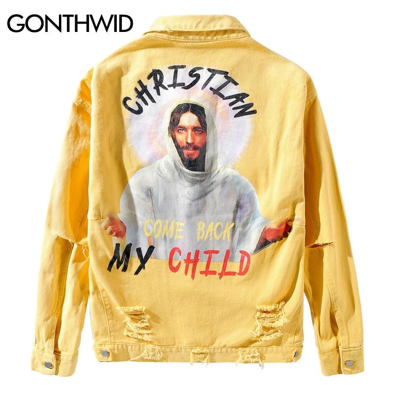 KUYOMENS Male Jacket Windbreaker Men Hip Hop Streetwear Vintage Color Block Hooded Jacket Coat Autumn 2018