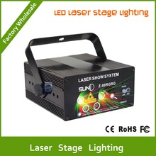 DHL Free shipping MINI LED Laser Stage Lighting 5 Lens 80 Patterns RG Led Laser Projector 3W Blue Light Effect For Party Lights