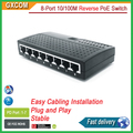 8 port 10/100M full powered Ethernet switch