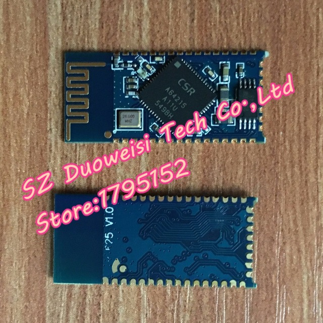 BTM625 / CSR A64215 Bluetooth Audio Module / Module (Bluetooth 4.0 / 4.2 / I2S / TWS / APTX)