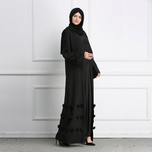 Women's Clothing Women Clothing Appliques Designs Muslim Cardigan Abaya Islamic Maxi Dress Middle East Kaftan Turkish Robes Kimono