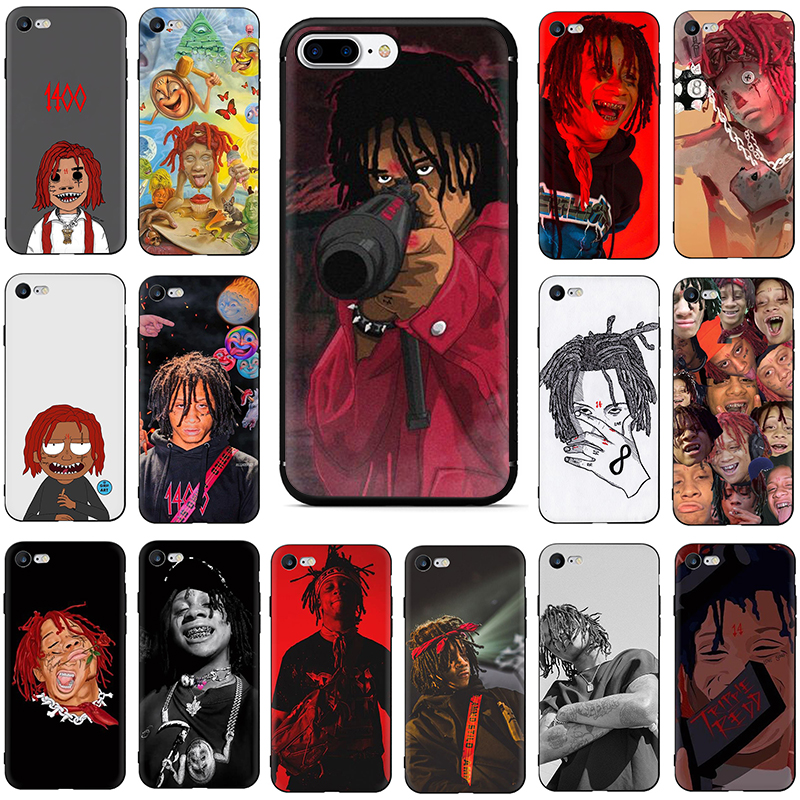Hip hop artist Trippie Redd Soft TPU Silicone phone cover case for iphone 5 5S SE 2020 6 6s 7 8 plus X XR XS 11 Pro Max image