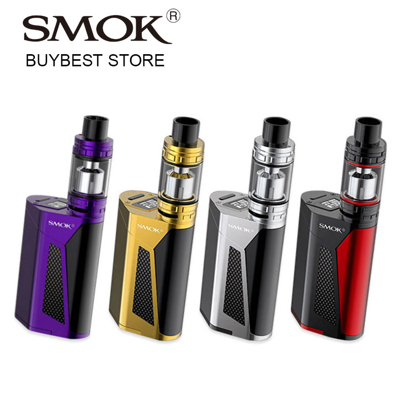 Original 350W SMOK GX350 Starter Kit med TFV8 Cloud Beast Tank 6ml Atomizer och 350W TC Box MOD G350 Stort Power E-Cig Vaping Kit