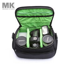Meking High capacity Camera Video Shoulder Bag waterproof High quality with rain coat for Canon Nikon Pendax Sony DSLR SLR