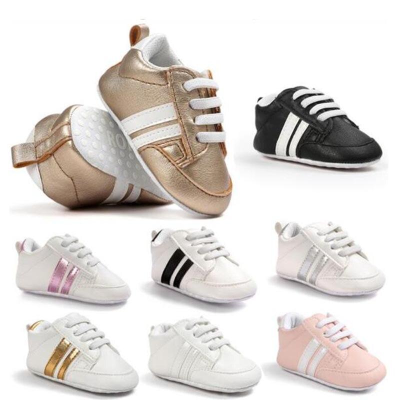a7750783a69 Calzado para niños recién nacido bebé niño suave suela Zapatos Niño  antideslizante zapato Casual Prewalker infantil clásico primero walker