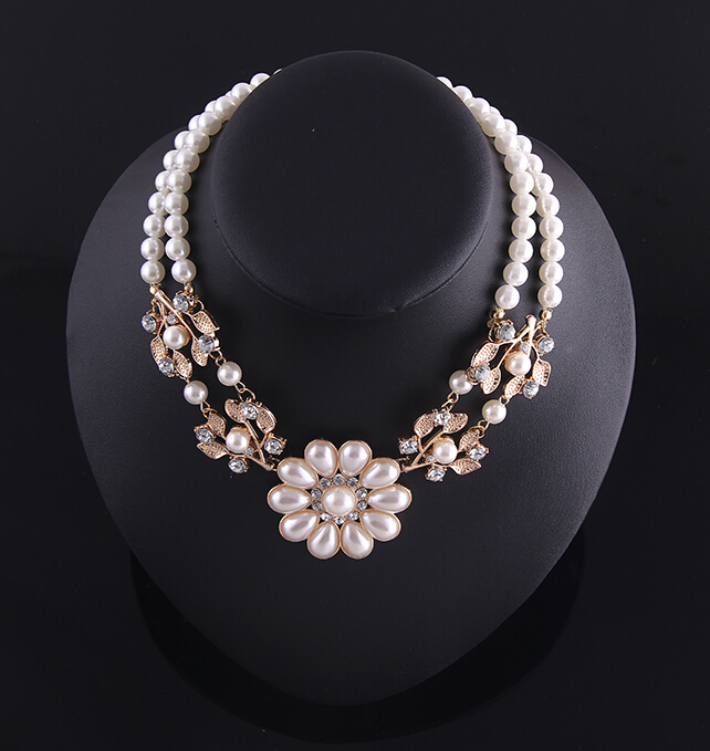 Latest designs unique choker necklace real pearl jewelryin Chain