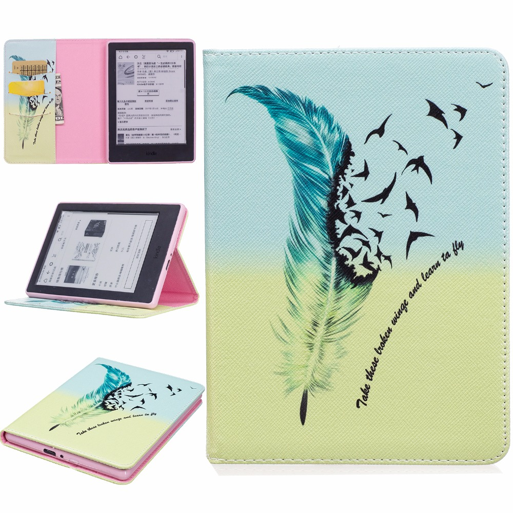 Tablet Case for Amazon All-New Kindle 8 8th Generation 2016 Case Cover for New Kindle 2016 8th Generation Cover Tablet Case leather cover for all new amazon kindle paperwhite fits all versions 2012 2013 2014 and 2015 all new 300 ppi versions