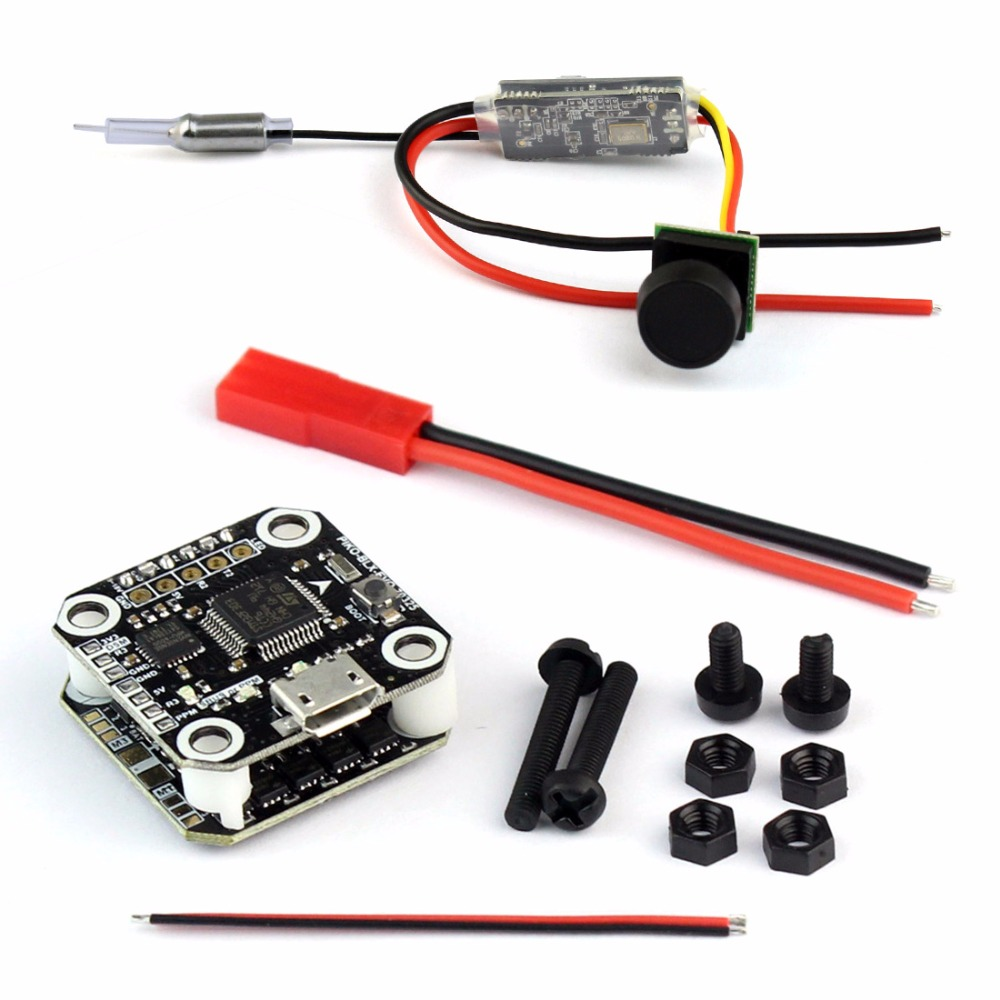 DIY FPV Drone Kit PIKO BLX F3 /Super_S F3 Flight Control 1103 7800kv Motor Q25 VTX+CAMERA Props for 90-130mm RC Racer Quadcopter