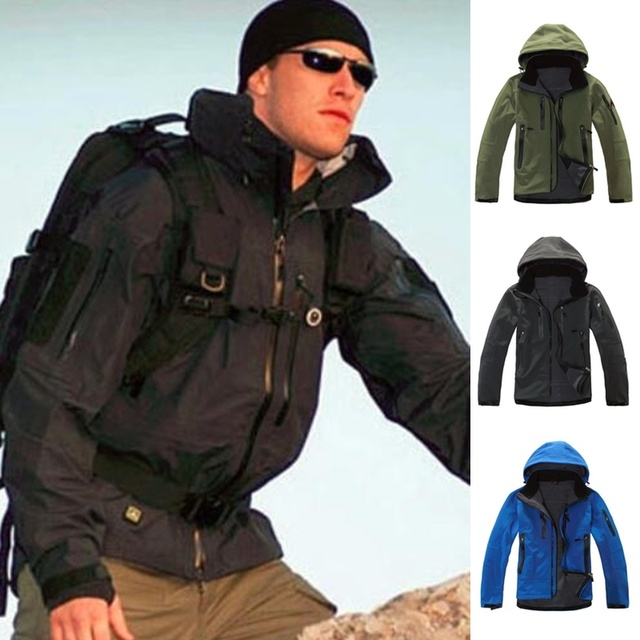 ZOGAA Mens Windbreaker Jackets Streetwear Men Soft Shell Fleece Warm Overcoat Solid Autumn Hooded Jacket Coat For Men Clothes