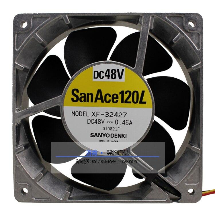 Nouveau SANYO DENKI SAN ACE 12038 48 V 0.46A XF-32427 1238 ventilateur de refroidissement du serveur