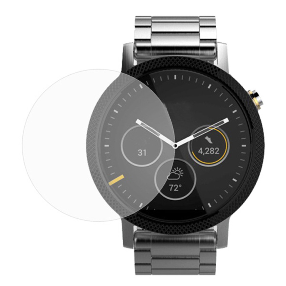 0.26mm Clear Tempered Glass Screen Protector Film For Motorola MOTO 360 2nd Smartwatch 42/46mm Arc Watch Screen Protective Film