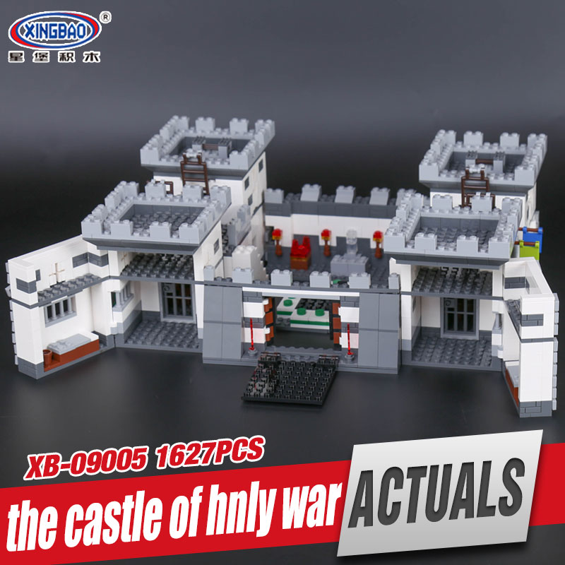 Xingbao 09005 1627Pcs Blocks Series The Castle of Holy War Set Children Educational Building Blocks Bricks Boy Toys Model Gifts rollercoasters the war of the worlds