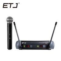 Free shipping Top quality For ETJ PGX24 SM 58 BETA 58 58A type Wireless system Karaoke Professional Microphone Stage KTV DJ