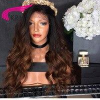 КРН 150 плотность Средства ухода за кожей волна Glueless Синтетические волосы на кружеве Искусственные парики Средства ухода за кожей волна Воло