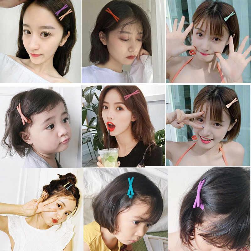 Lily Wang 1 個かわいいグリップ蝶のヘアクリップ 5 センチメートル韓国のファッションヘアピン子供のヘアクリップアクセサリーバレッタ