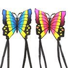 Butterfly Kite Easy to Fly Single Line Kite Tail 1.5M For Kids Outdoor Funny Sports Toy Gift Funny Sport Outdoor Playing Toys