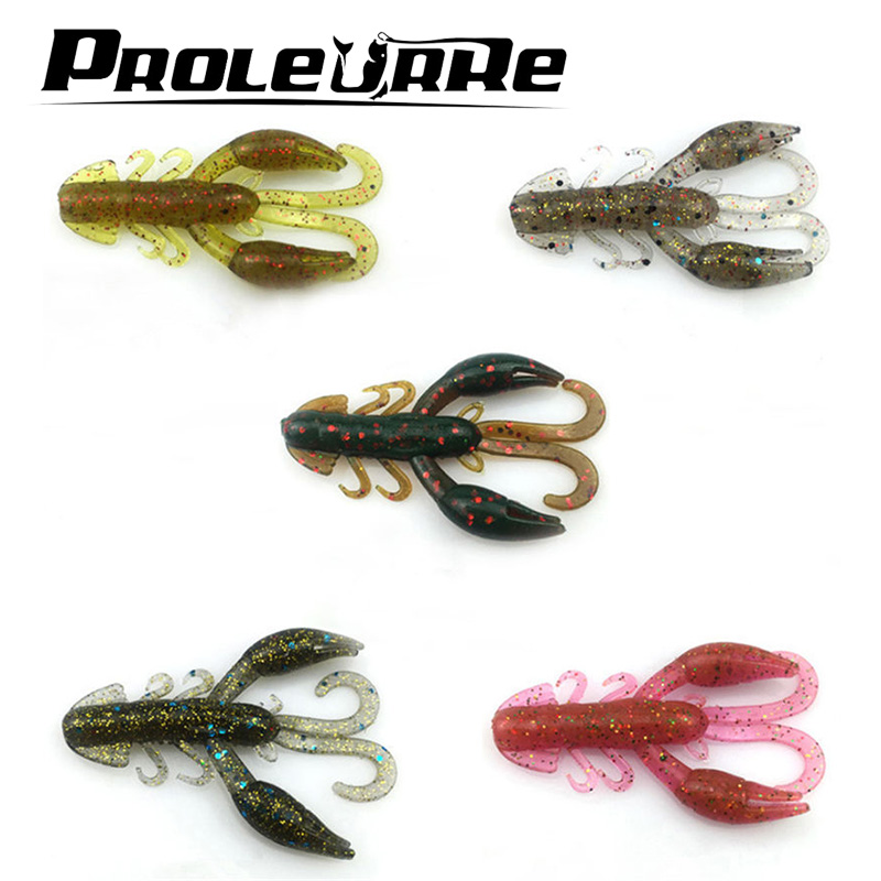5Pcs/Lot Lures Soft Bait 5cm 2g silicone bait Worms fishing lure with salt smell Fishing Takcle Grub Artificial Lure YR-343 100pcs lot artificial fishing lure bionic fish soft bait fishy smell pesca fishing tackle lures 7cm 2 3g fishing bait