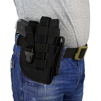 Tactical Gun Holster Molle Modular Pistol Holster For Right Handed Shooters 1911 45 92 96 Glock