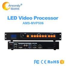 MVP506 prezzo più basso come display a led processore video KS600, indoor p2 p3 p4 p5 ha condotto il pannello parete video a led processore ingresso DVI HDMI