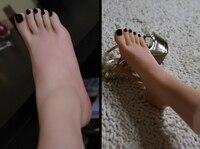 Mannelijke volwassen producten volledige silicone fake sexy vrouwelijke benen echte huid textuur voeten aanbidden Voet Fetish speelgoed Model gratis verzending