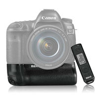 JINTU Top Power Meike 5DIV Pro Battery Grip + 2.4G Remote Kit for Canon 5DIV 5D4 5D MARK IV Camera as BG E20
