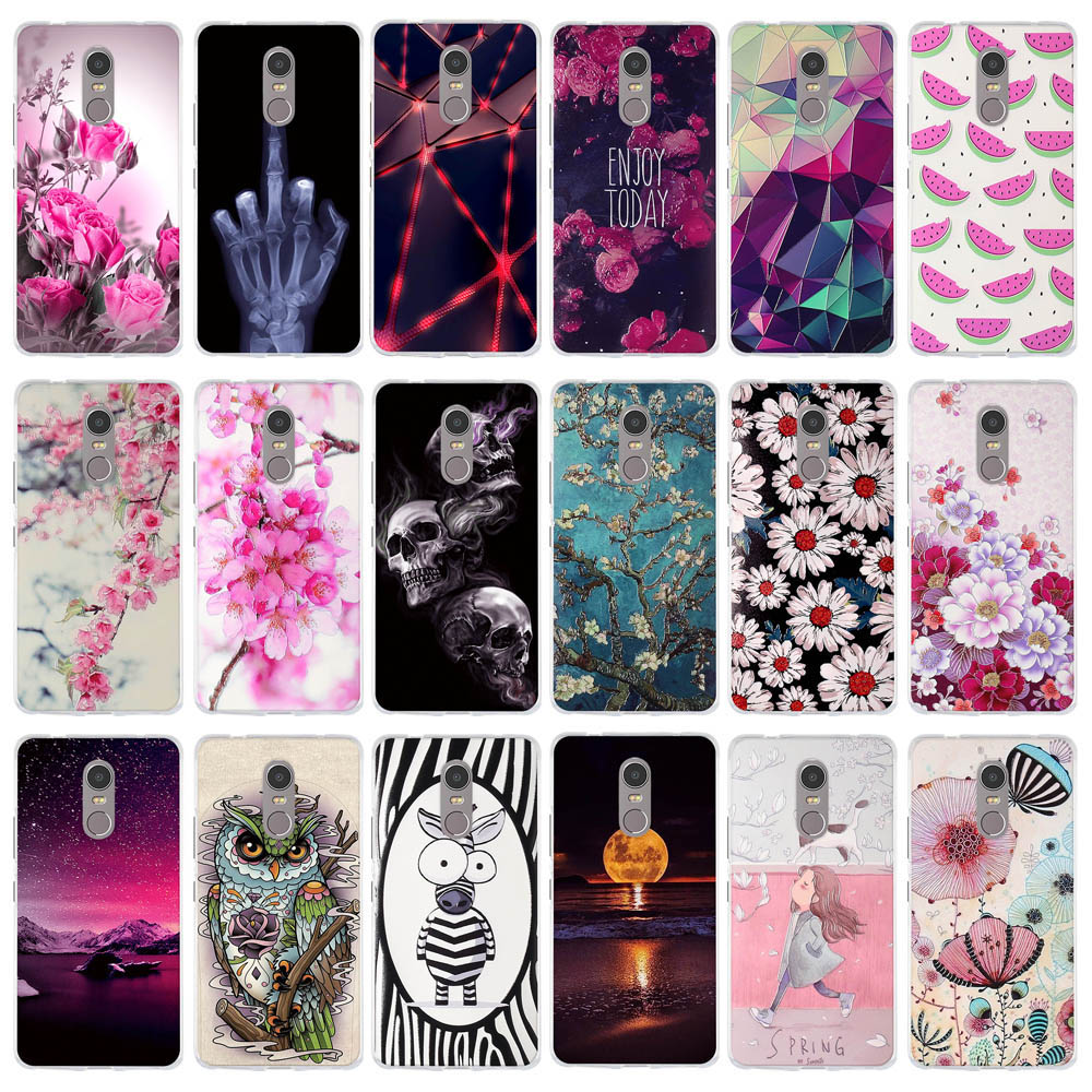 Cases For Lenovo K6 Note 5.5 inch K53 A48 K6Note K53A48 Case Soft TPU Silicone Phone Cover for Lenovo K6 note Case Fundas Bags