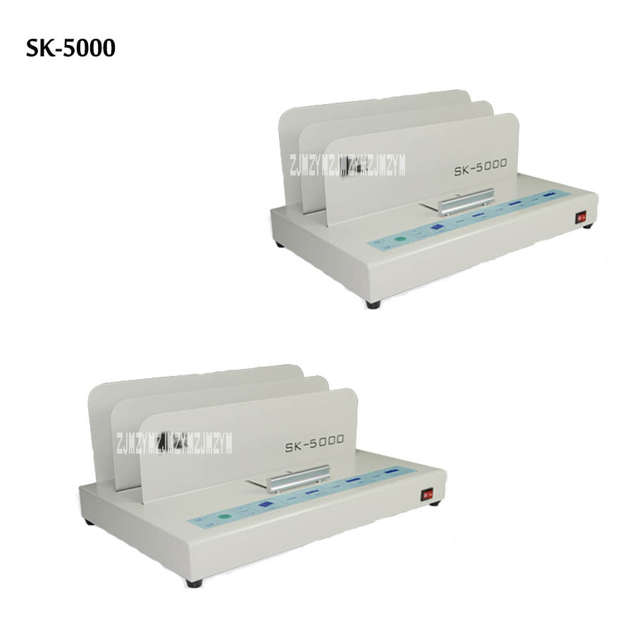 цена на Hot glue binding machine desktop perfect paper thermal binder electric metal book maquina de encuadernar encuadernadora