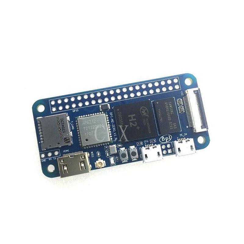 Banana pi BPI-M2 zero com wifi e bluetooth 1 ghz cpu 512 mb ram linux os 1080 p hd saída de vídeo frete grátis