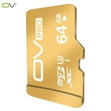 OV Tarjeta Micro SD 64 GB Clase 10 Tarjeta MicroSD 64 GB C10 Carte SD cartao de Memoria Flash Tarjeta de Memoria SDXC Micro 64G Karta