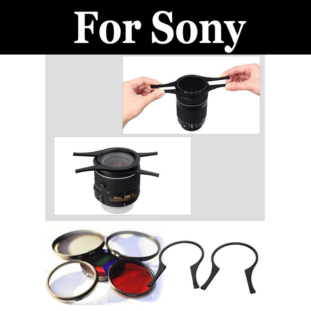 Camera Lens Accessories Uv Cpl Nd Star Filter Adapter Ring Remove For Sony Sd15 A6400 A6300 A7 A6500 A6000 A9 A7r A7s A99 Ii Iii