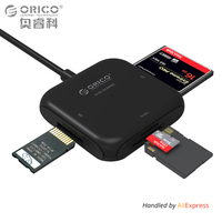 ORICO 4 In 1 USB 3 0 Smart Card Reader Flash Multi Memory Card Reader For