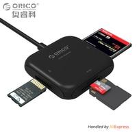 ORICO 4 In 1 USB 3 0 Smart Card Reader Flash Multi Memory Card Reader For