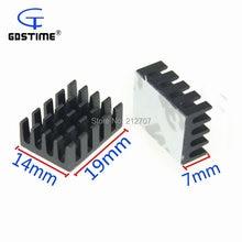 Радиаторы 20 шт/лот gdstime 19 мм x 14 7 с клейкой лентой охладитель